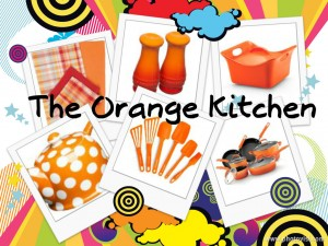 Orange Kitchen Decor Ideas